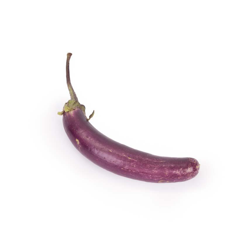 Melanzana mini varietà Perlina