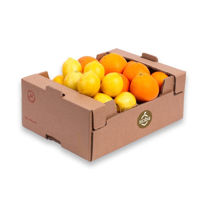 organic oranges and lemons