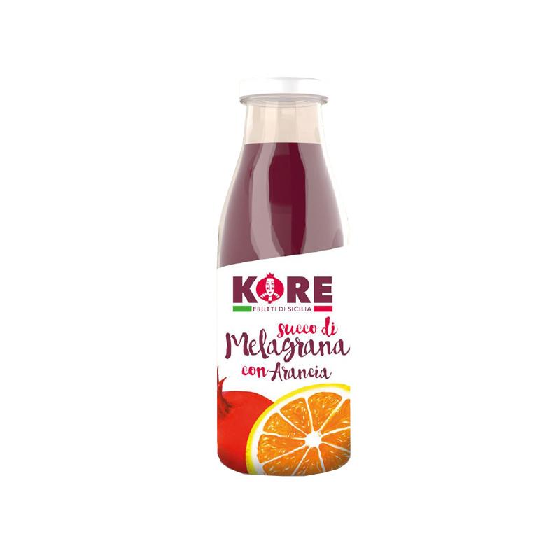 succo melagrana e arancia