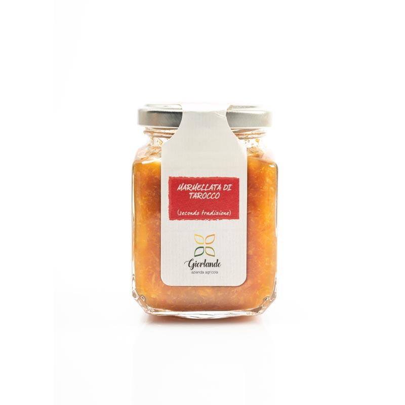 marmellata di arancia tarocco