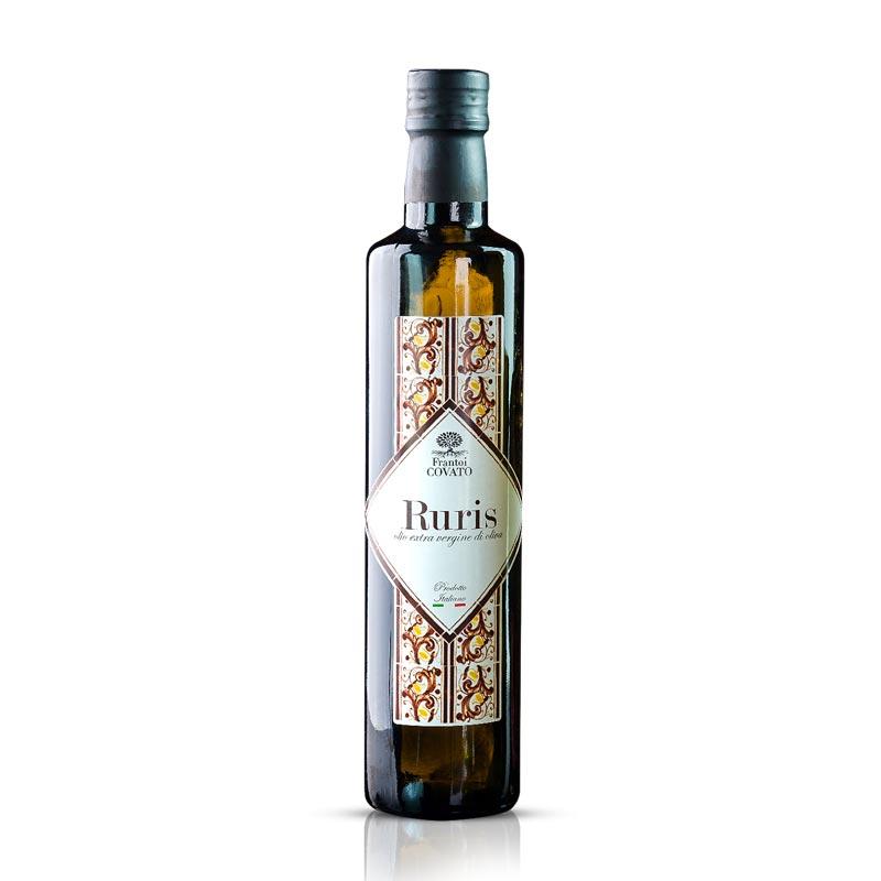 olio extra vergine di oliva dop ruris